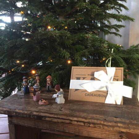 Cadeaubon voor de kerst