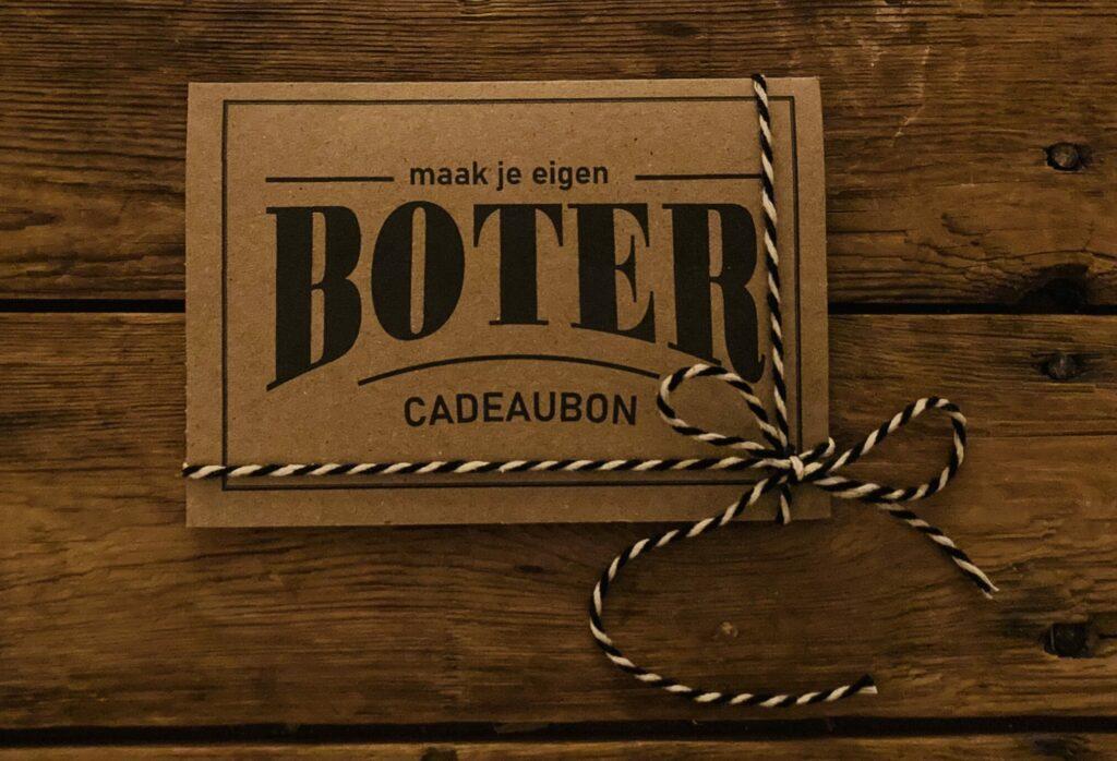 Geef een boter workshop cadeau